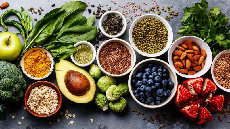 Thực phẩm tự nhiên có tác dụng chống oxy hóa rất cao nhờ vào các hoạt chất có lợi
