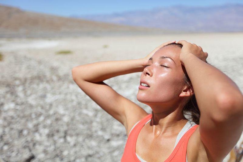 Mất nước là một trong những nguyên nhân hàng đầu khiến độ pH máu tăng