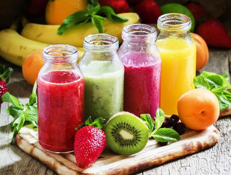 Sinh tố hỗn hợp các loại rau, củ, quả rất tốt cho sức khỏe