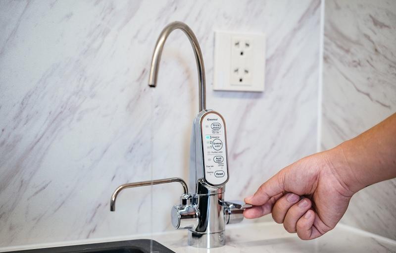 Máy lọc nước của Mitsubishi Chemical Cleansui được thiết kế thông minh, nhỏ gọn