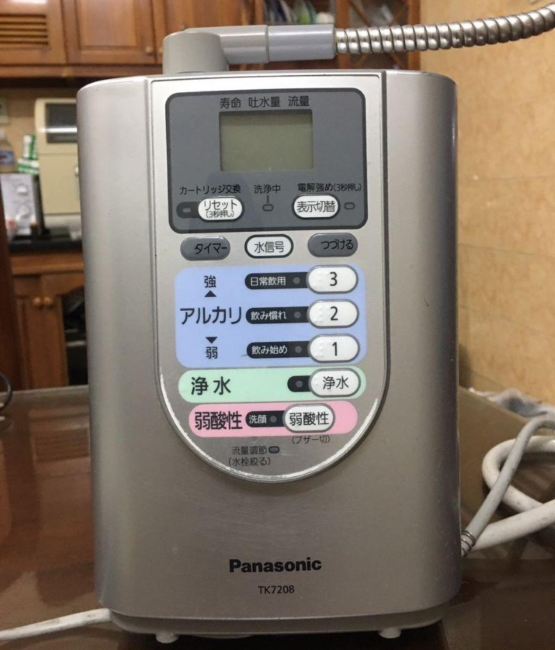 Hình ảnh máy lọc nước Ion Kiềm Panasonic Tk7208