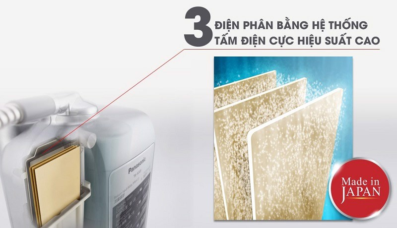 3 tấm điện phân platinum cực bền của máy