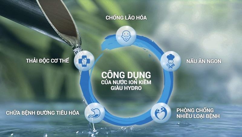 Chất lượng dòng nước đảm bảo là tốt nhất