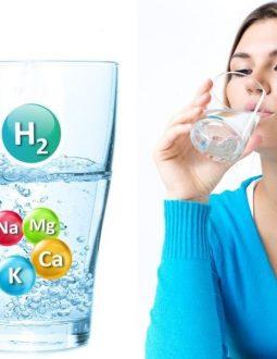 Nước kiềm Alkaline giàu khoáng chất và kiềm tự nhiên