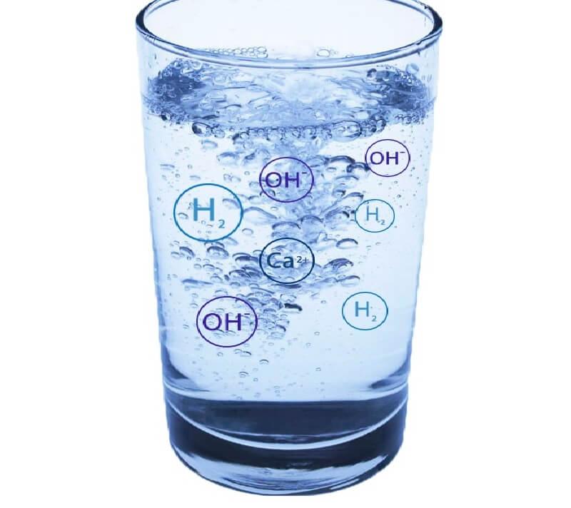 Quy trình sản xuất dựa vào 2 công đoạn chính là lọc thông minh và điện phân nước