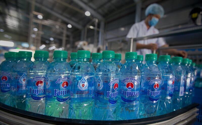 Mua nước ion kiềm đóng chai fujiwa ở đâu đảm bảo chất lượng?
