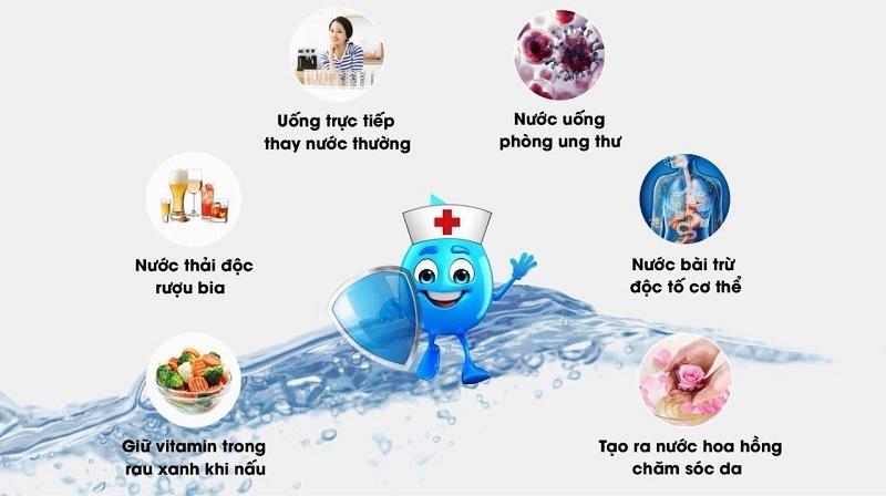 Sử dụng nước Hydrogen mỗi ngày cho cơ thể khỏe mạnh, tăng cường hệ miễn dịch