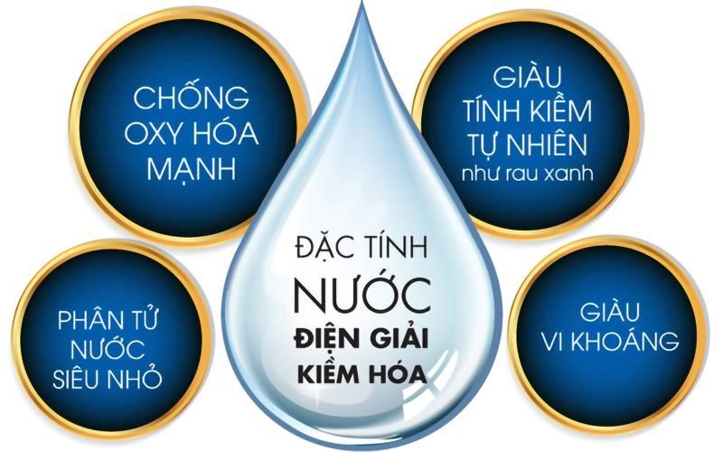 Tìm hiểu 4 đặc tính quan trọng góp phần mang đến giá trị của nước ion kiềm