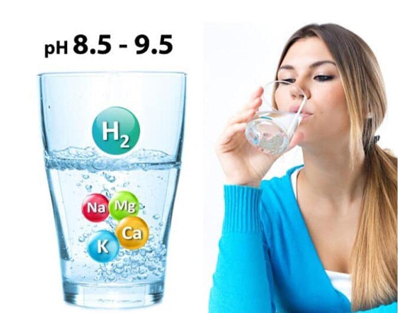 Nước ion kiềm rất tốt cho sức khỏe cũng như làn da