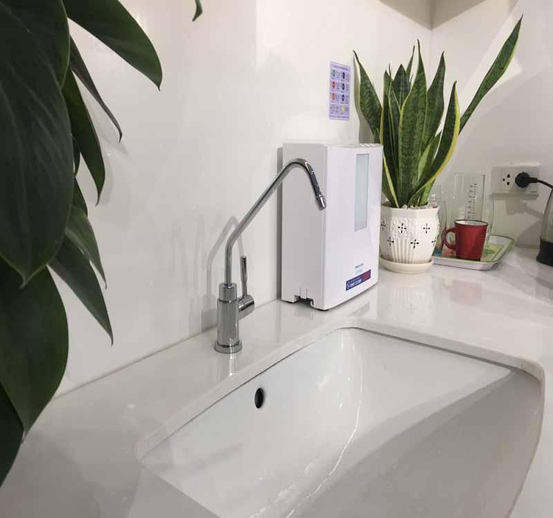 Thiết kế nhỏ gọn, đẹp mắt, hiện đại của máy lọc nước