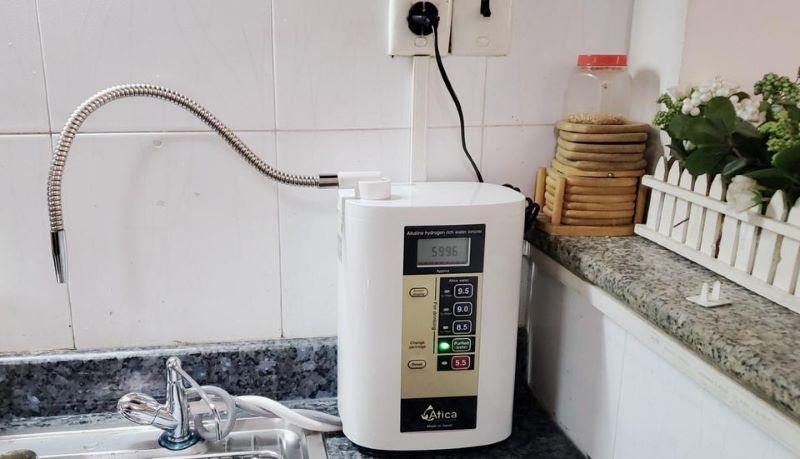 Thiết bị lọc tạo ra nguồn nước có giá trị pH đa dạng