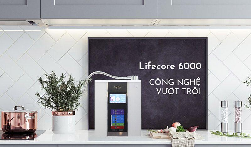 Máy lọc nước ion kiềm Lifecore – 6000 là sự lựa chọn hoàn hảo cho mọi gia đình