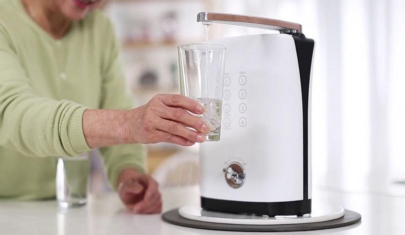 Alkaline KYK Hisha giúp tạo ra 7 chế độ nước khác nhau