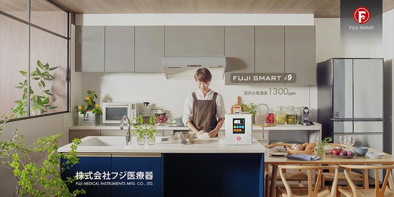 Fuji Smart i9 tạo ra nồng độ Hydro hòa tan lên đến 1300 ppb
