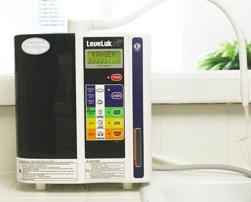 Kangen LeveLuk SD501 tạo ra 7 loại nước khác nhau