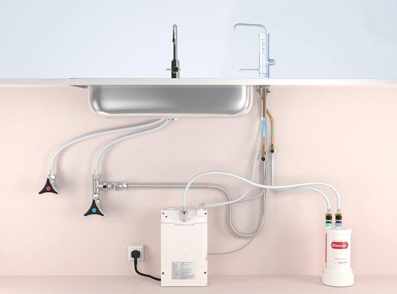 Máy lọc nước Mitsubishi Cleansui Alkaline AL800 cung cấp 5 chế độ lọc