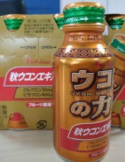 Nước giải rượu Nhật Bản Ukon No Chikara giúp giải rượu nhanh chóng
