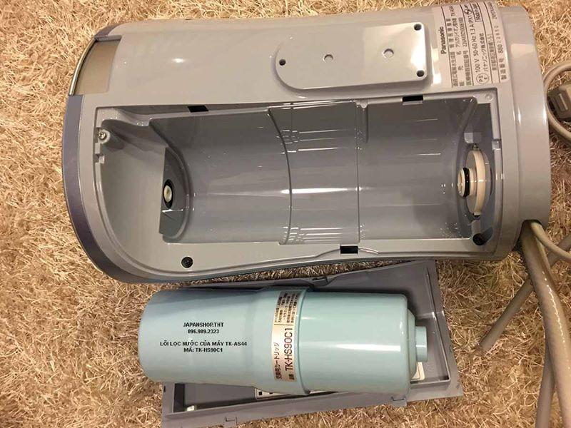 Lõi lọc nước Panasonic được thiết kế khá nhỏ gọn
