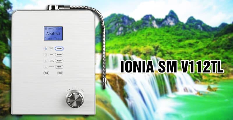 Máy điện giải Ionia SM V112TL được trang bị 7 tấm điện cực phủ Titanium – Platinum