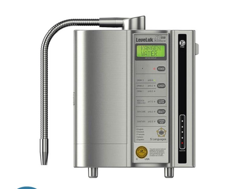 Máy lọc nước Kangen Leveluk có thiết kế đẹp mắt thích hợp với nhiều không gian