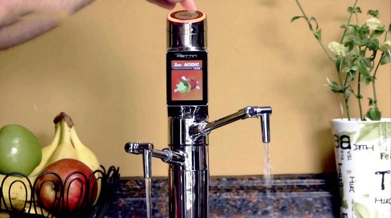 Máy điện giải mang đến 7 loại nước với các cấp độ pH khác nhau