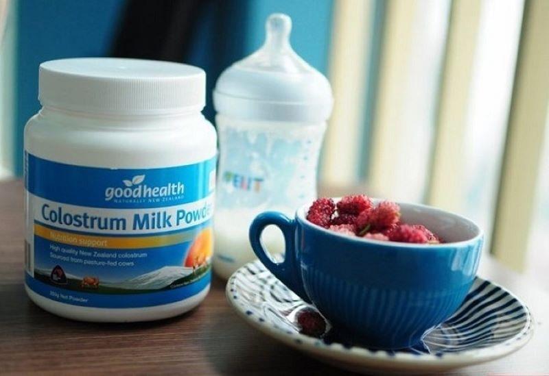 Sữa non Goodhealth là sản phẩm hữu ích cho sức đề kháng của các bé nhỏ