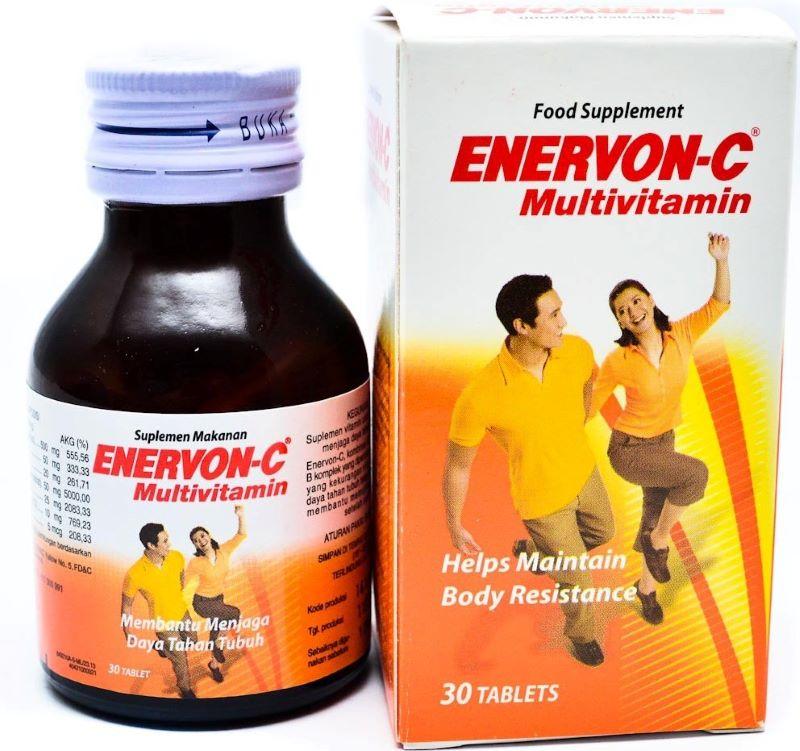Enervon giúp bổ sung vitamin C và các dưỡng chất cần thiết cho bé