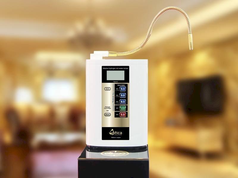 Máy điện giải Atica Gold là sản phẩm bán chạy nhất tại Việt Nam của hãng