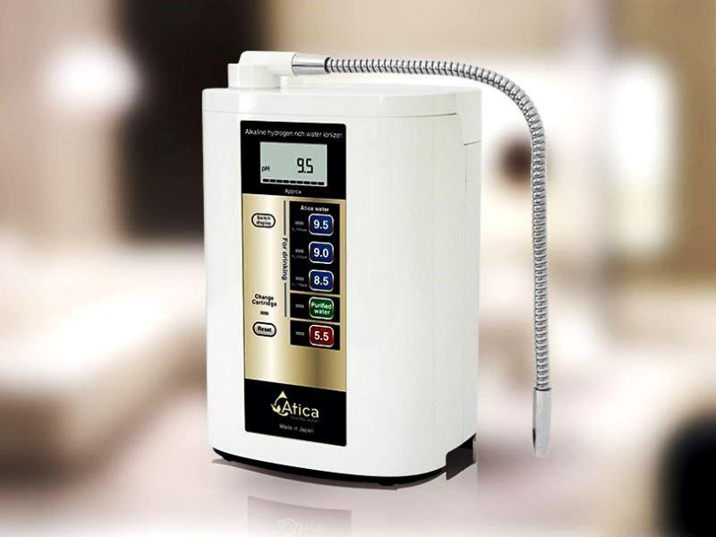 Máy lọc nước ion kiềm Atica sở hữu hàng loạt công nghệ lõi đột phá