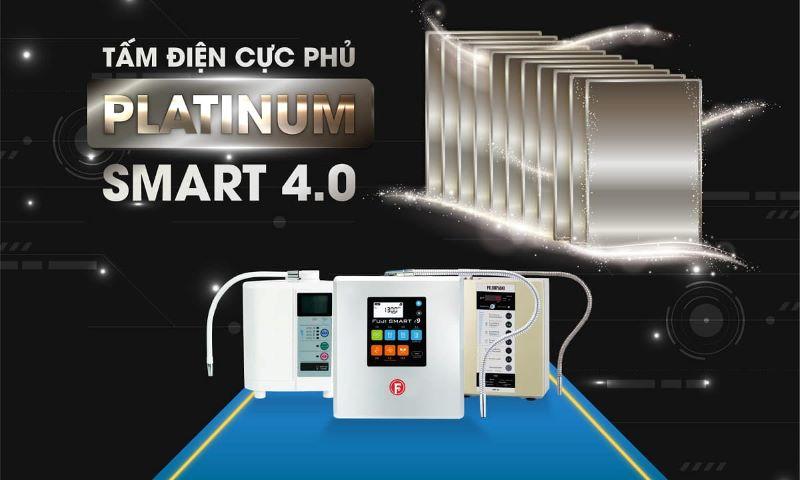 Máy lọc nước ion kiềm có tốt không một phần phụ thuộc vào số lượng tấm điện cực bên trong