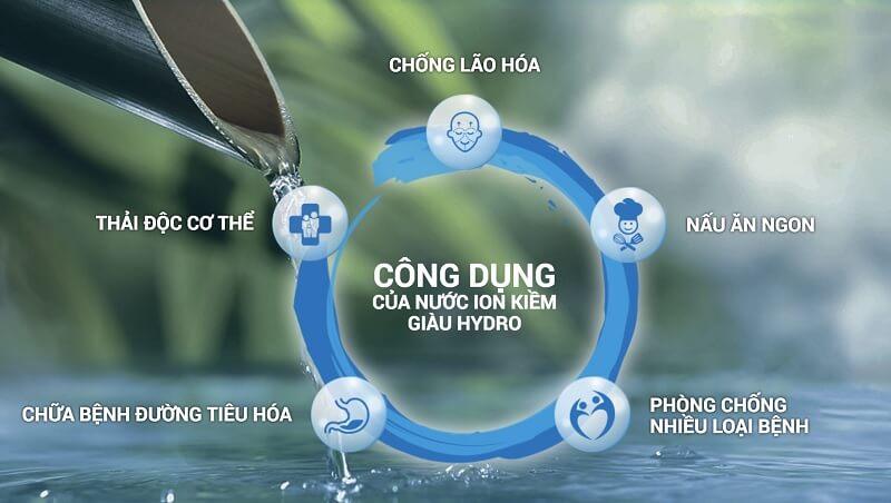Nguồn nước mang lại sở hữu nhiều đặc tính quan trọng giúp nâng cao sức khỏe người dùng