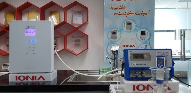 Máy có trang bị công nghệ làm sạch điện cực tự động nên giúp tối ưu thời gian hoạt động của máy
