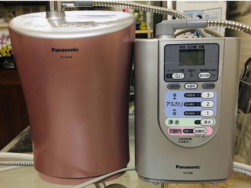 Máy lọc nước kiềm Panasonic là sản phẩm nổi tiếng của Nhật Bản
