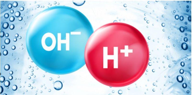 Nước ion kiềm thường nhiều ion OH- hơn H+