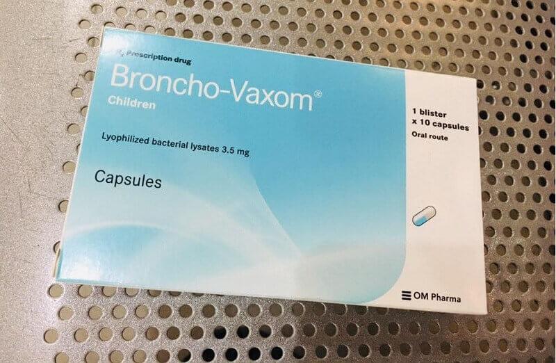 Thuốc được bào chế với hiệu quả tương tự như một loại vacxin giúp phòng ngừa và điều trị bệnh đường hô hấp cho trẻ