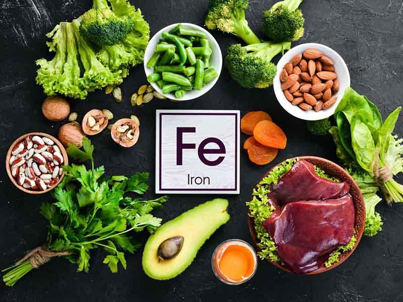 Sắt có trong nhiều loại thực phẩm mà chúng ta ăn hằng ngày