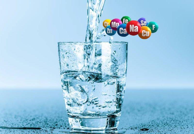 Nước ion kiềm chứa một hướng kẽm dồi dào cho cơ thể